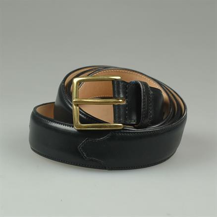 Kreis Belt cordovan gold buckle