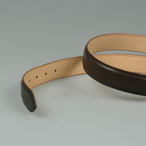 Kreis Belt grain leather