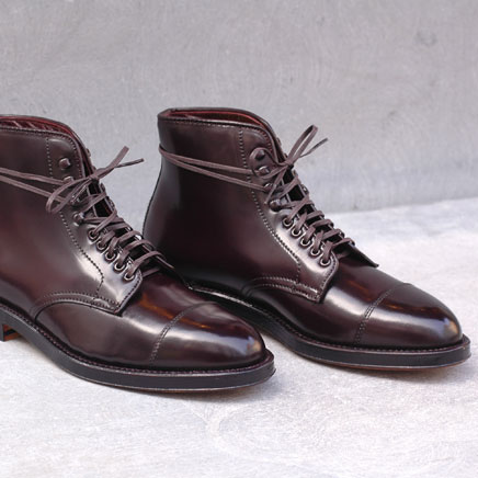Navy boot Alden