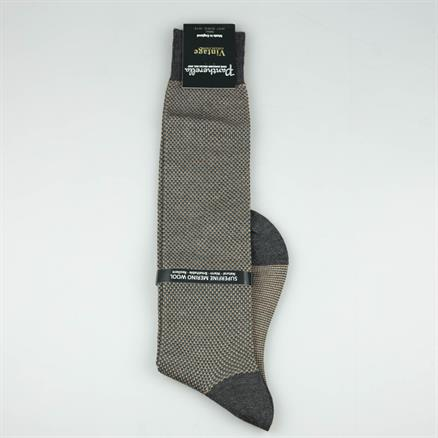 Pantherella Long sock birds eye