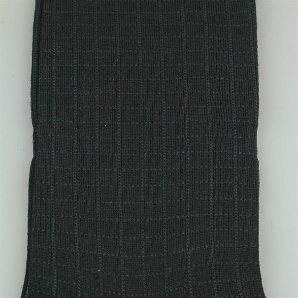 Pantherella Sock black check merino
