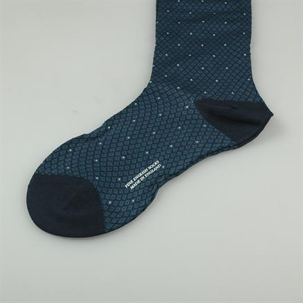 Pantherella Sock cotton check
