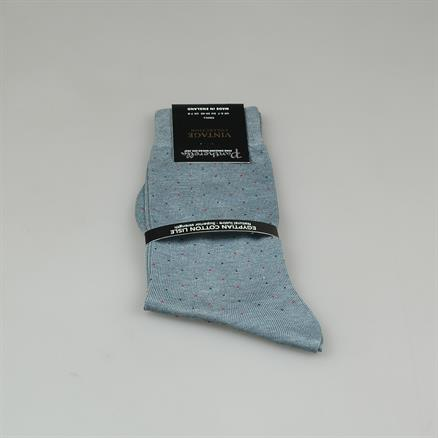 Pantherella Sock cotton mini dots
