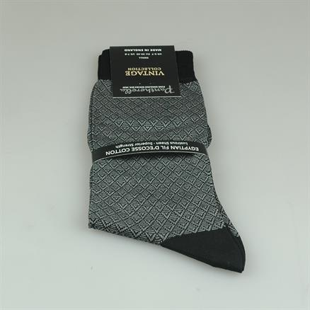 Pantherella Sock cotton pattern