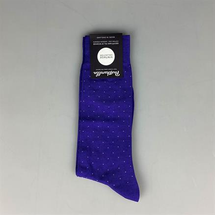 Pantherella Sock cotton pindot