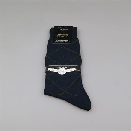 Pantherella Sock fancy check