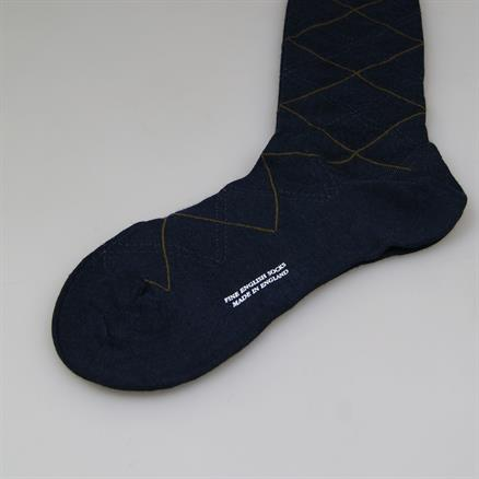 Pantherella Sock fancy check