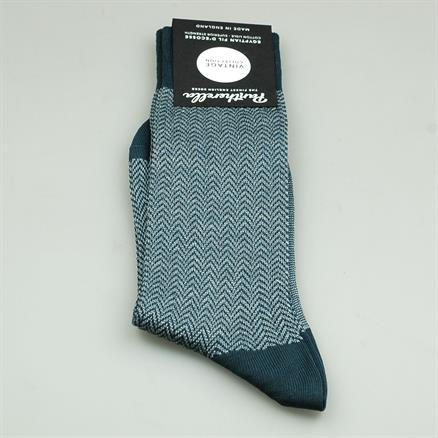 Pantherella Sock herringbone cotton