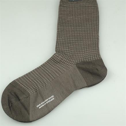 Pantherella Sock houndstooth