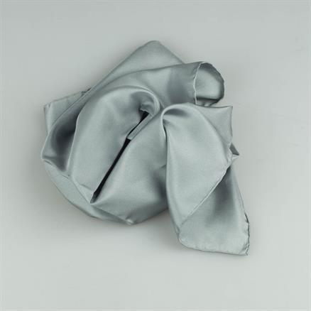 Pochette plain silk