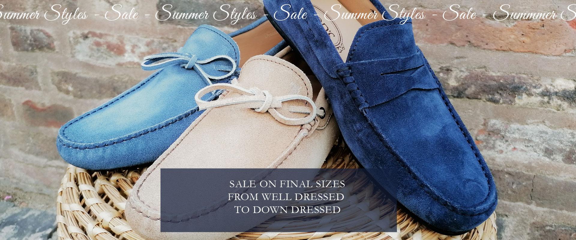 Sale final sizes