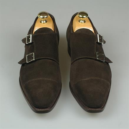 Santoni Latio basic suede