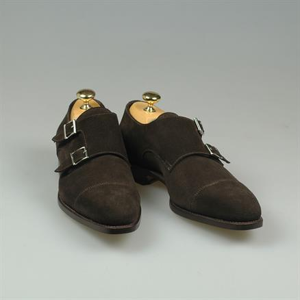 Santoni Latio suede