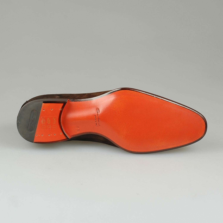 Santoni Vito loafer suede 4076730d042