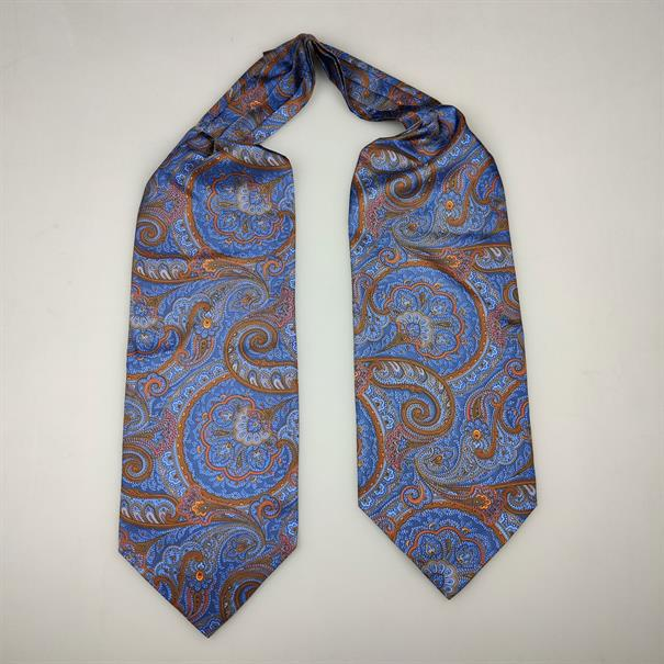 Shoes & Shirts Ascot tie paisley big