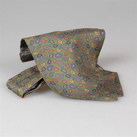 Shoes & Shirts Ascot tie paisley