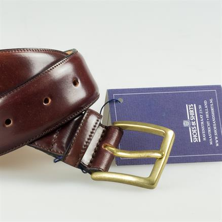 Shoes & Shirts Belt cordovan