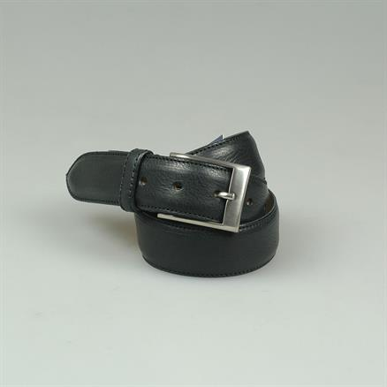 Shoes & Shirts Belt grain leather