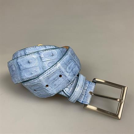 Shoes & Shirts Belt real croco matt