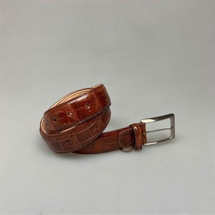 Shoes & Shirts Belt real croco