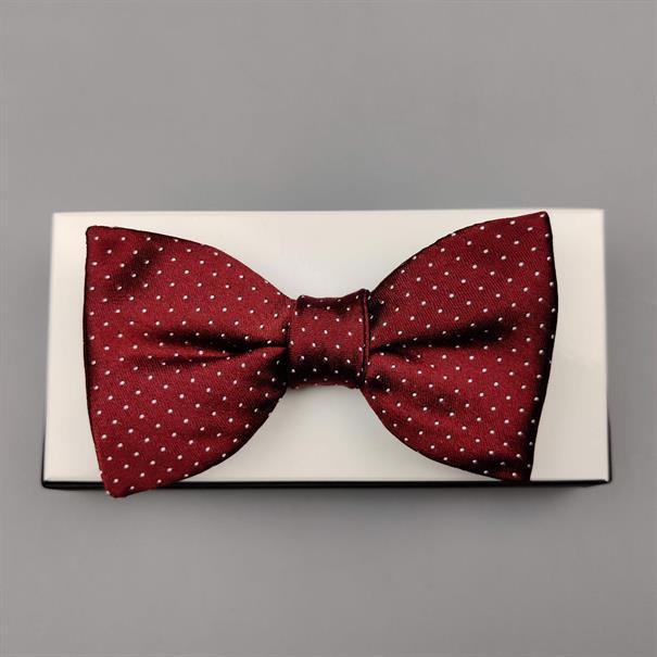 Shoes & Shirts Bow-tie mini polkadot