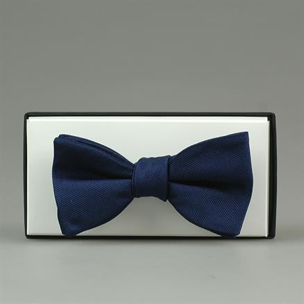 Shoes & Shirts Bow-tie plain silk