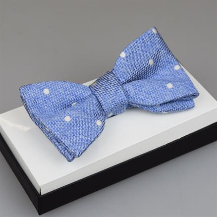 Shoes & Shirts Bow-tie silk/cotton dot