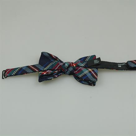 Shoes & Shirts Bow-tie tartan
