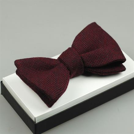 Shoes & Shirts Bow-tie wool/silk