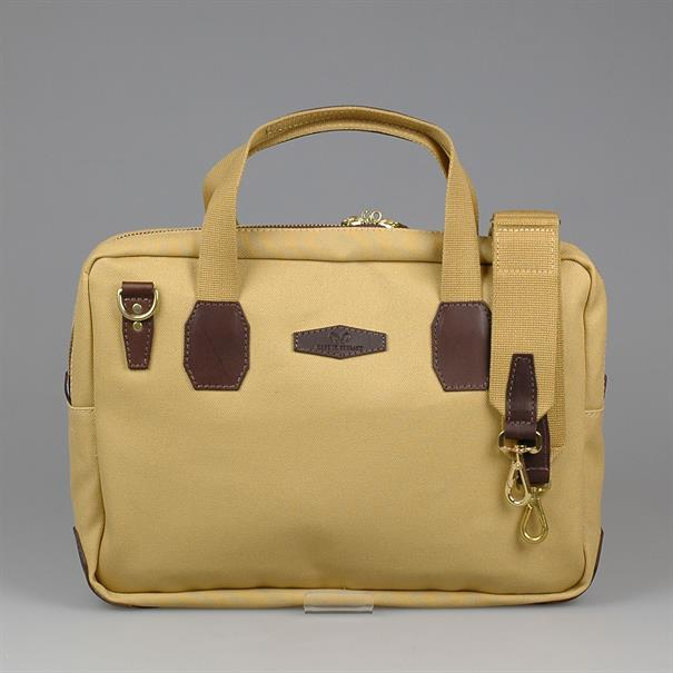Shoes & Shirts Briefcase canvas/leather