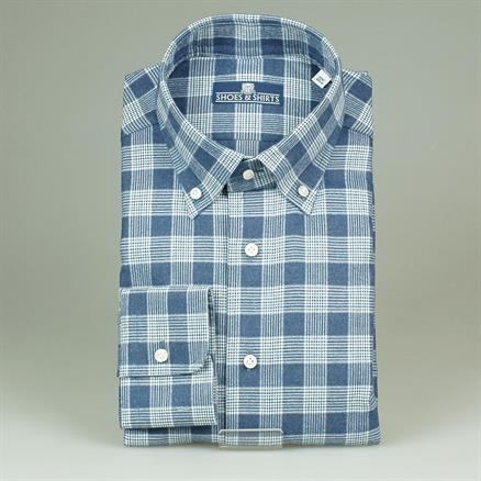 Shoes & Shirts Button d modern flannel