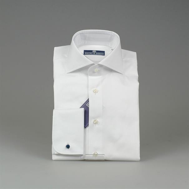 Shoes & Shirts Cutaway plain d/cuff