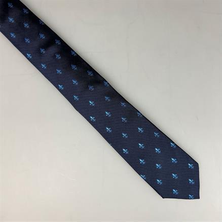 Shoes & Shirts Fleur de lille bleu