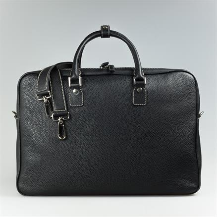 Shoes & Shirts One zip briefcase grain