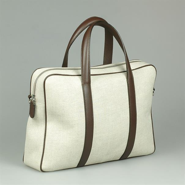 Shoes & Shirts One zip business bag canvas