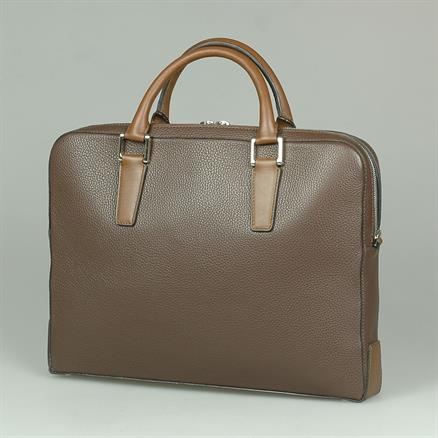Shoes & Shirts One zip business bag grain