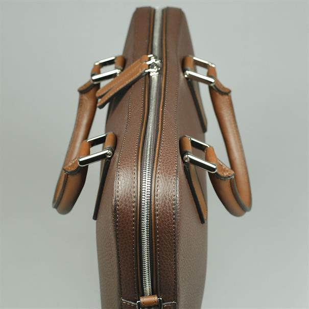 Shoes & Shirts One zip business bag grain
