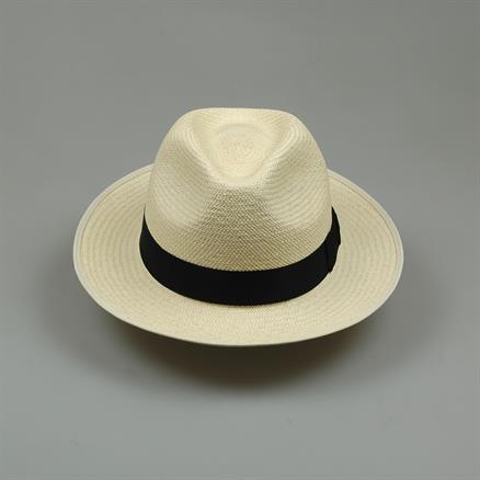 Shoes & Shirts Panama hat cream/black