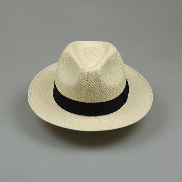 Shoes & Shirts Panama hat cream/black