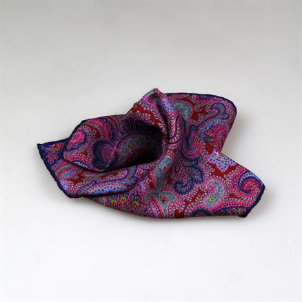 Shoes & Shirts Pochette paisley