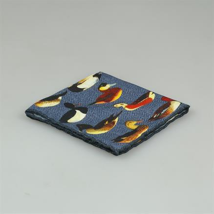 Shoes & Shirts Pocket square ducks