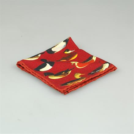 Shoes & Shirts Pocket square ducks