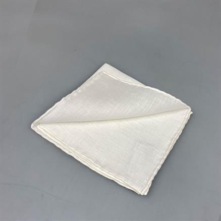 Shoes & Shirts Pocket square plain linen