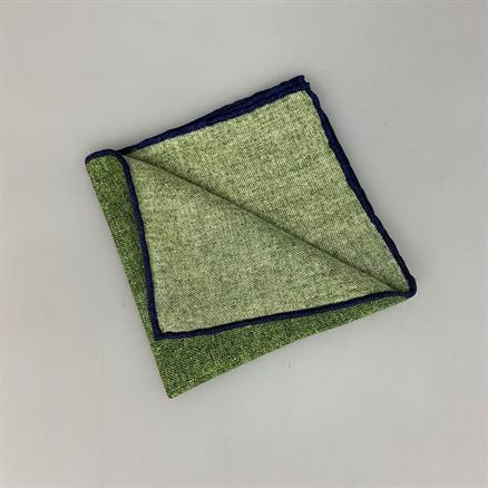 Shoes & Shirts Pocket square plain wool