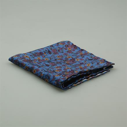 Shoes & Shirts Pocket square silk fleur