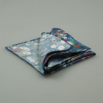 Shoes & Shirts Pocket square silk flower