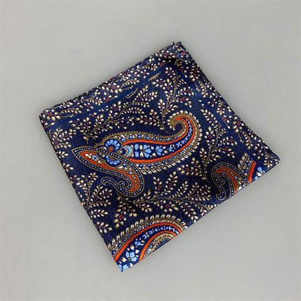 Shoes & Shirts Pocket square silk paisley