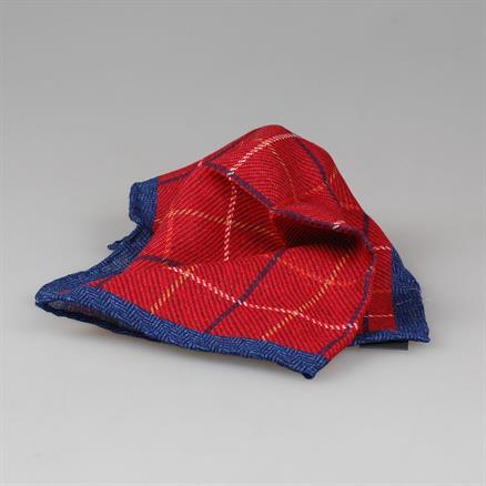Shoes & Shirts Pocket square wool check