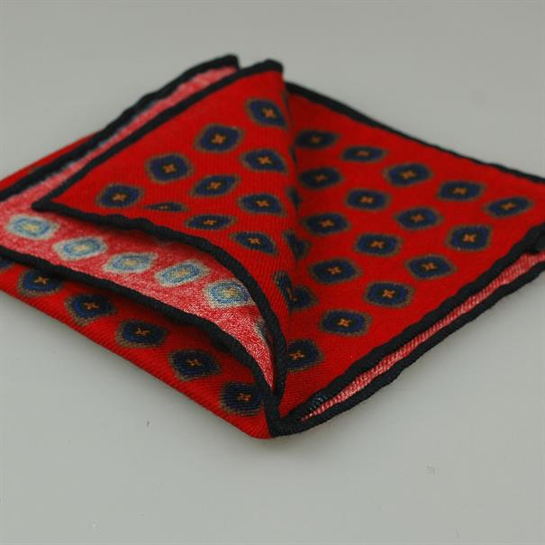 Shoes & Shirts Pocket square wool