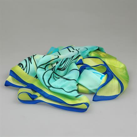 Shoes & Shirts Scarf chale satin silk